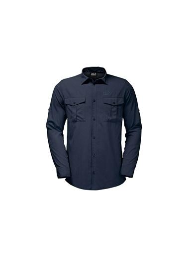 Jack Wolfskin Atacama Rool Up Erkek Gömlek - 1402431-1010 Beyaz